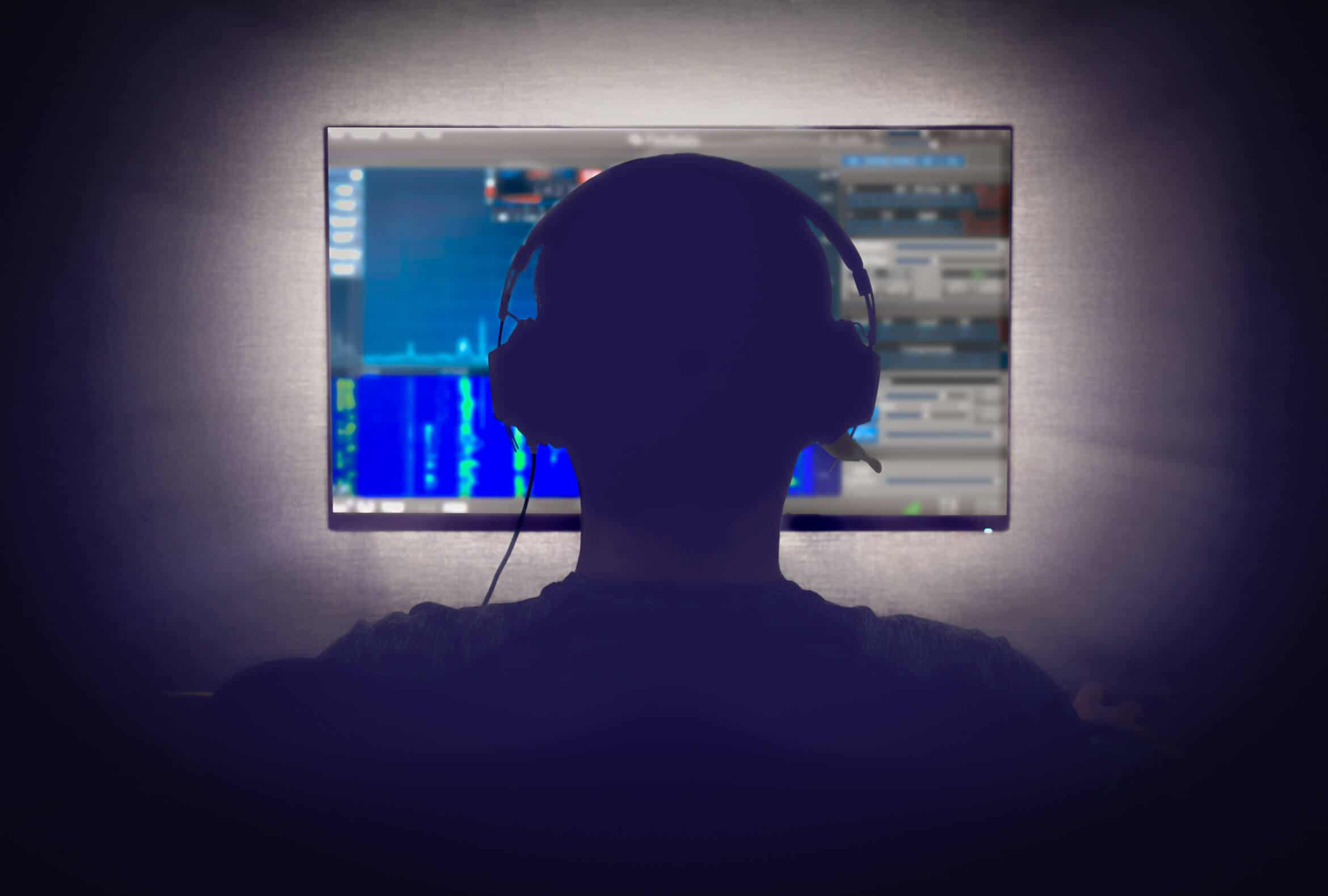 SDR_guy with headphones